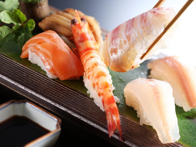 にぎり寿司の一例