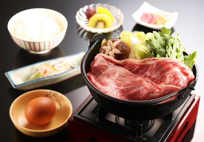 神戸牛すき鍋膳